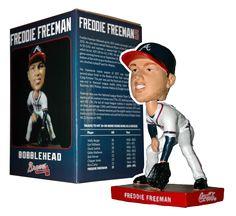 Atlanta Braves 1st Baseman Freddie Freeman.  www.thebobblehead.com