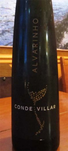2011 Conde Villar Alvarinho - a light and refreshing wine from Portugal with aromas of jasmine and orange blossoms. A great companion for cheese appetizers and seafood entrees. $13