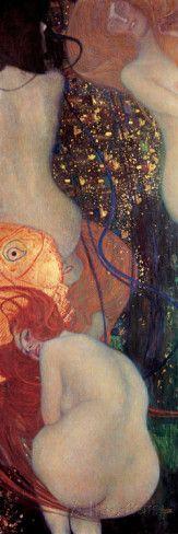 Il Pesce d'oro Arte di Gustav Klimt su AllPosters.it