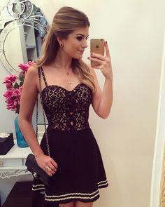 Vestido Preto de Renda - Lacy Black Dress