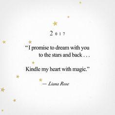 Happy New Year! With love, Liana Rose <3