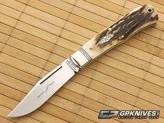 Northfield Cutlery #42 LockBack Natural Stag Serialized