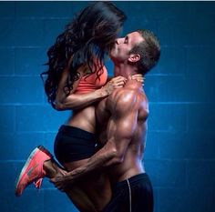 mytrainertiffany: Fit couple on We Heart It - http://weheartit.com/entry/83550940