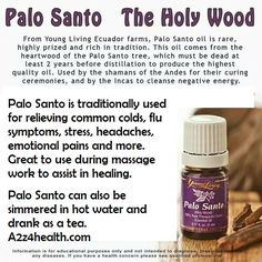 Palo santo tea & I smudge with Palo Santo (especially flu and cold season) Young Living Oils, Young Living Essential Oils, Palo Santo Essential Oil, Essential Oil Companies, Lakefront Homes, Essential Oil Diffuser Blends, Aromatherapy, The Cure, At Least