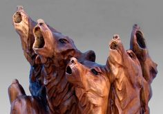 Animal Sculptures – Cyote by J. Chester Armstron