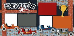 Pinewood Derby Page Kit