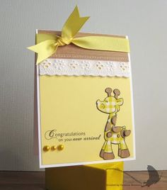 Giraffe image--pop dots to lift the spots; greetings cards