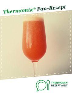 Sektcocktail Bellini von Paolena. Ein Thermomix ® Rezept aus der Kategorie Getränke auf www.rezeptwelt.de, der Thermomix ® Community.