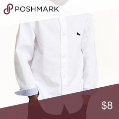 H&M Cotton Shirt. Used, but very well taken care of. No stain No holes. (Will iron before shipping) 15% off 3 or more items H&M Shirts & Tops Button Down Shirts