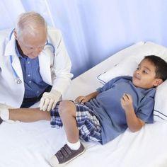Enfermedades de rodilla en los niños.