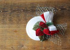 strawberries headpiece