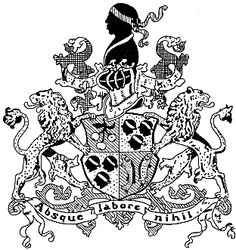The Heraldic Moor in the arms of the family Moorrees symbolizes Blue Blood