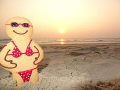 One of our lovely girls from Biscuiteers HQ is in Goa at the moment and took this little Jolly Ginger with her!
