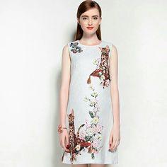 Китайский стиль платье