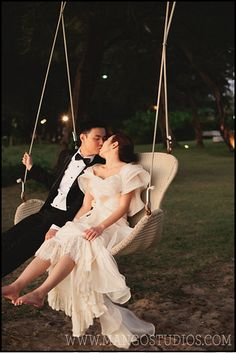 so cute... there is a swing where I'm getting married!