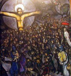 Marc Chagall - 'Exodus' - (1966)