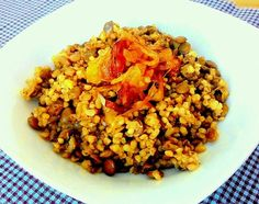 Category archive for Vegetariana. Comidas Light, Good Food, Yummy Food, Couscous, Polenta, Fried Rice, Food For Thought, Allrecipes, Side Dishes