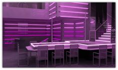 Photo-realistic 3D Rendering for A Night Club To Life in USA