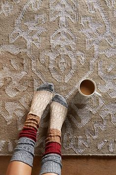 Incredibly Mary Janes Style Files: Shoes, Jewelry, & Accessories Favorites - Women's Jewelry and Accessories-Women Fashion Mary Janes, Cozy Socks, Fall Socks, Winter Socks, Knit Socks, Mode Inspiration, Sock Shoes, Hygge, Swagg