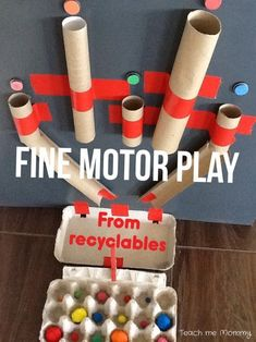 Use recyclables to m