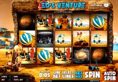 Ed's Venture takes you out of this world, literally! The slot is based on a robot that ventures out to another planet to meet his family, of course he comes along a number of problems along the way! This 20 payline slot game is both light-hearted and fun with excellent graphics to top it off.    Play Ed's Venture today by creating an account at Castle Casino.