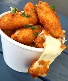 "5,450 Likes, 59 Comments - grubspot. (@grubspot) on Instagram: ""CHEESE CURDS #cheese #cheesy #grubspot snapchat: grubspot"""