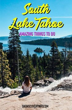Discover South Lake Tahoe - a getaway to adventure! Learn about South Lake Tahoe things to do in summer such as kayaking, swimming, and paddleboarding! Big Sur California, California Travel, Southern California, Hiking Spots, Camping Spots, South Lake Tahoe Hikes, Amazing Destinations, Travel Destinations, Travel Tips