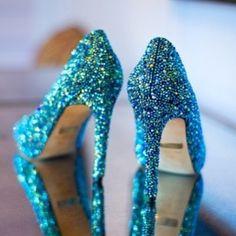 Blue diamond heels <3