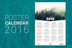 Buy Poster Calendar 2016 by antartstocks on GraphicRiver. Poster Calendar 2016 Features Size mm) 12 months on page Week starts Monday, Week starts Sunday Swatches,. Business Illustration, Pencil Illustration, Business Brochure, Business Card Logo, Stationery Templates, Design Templates, 2016 Calendar, Calendar Wall, Buy Posters