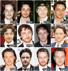 evolution McAvoy