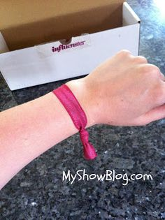 My Show- Goody Ouchless Ribbon Elastics