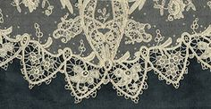 needlepoint lace, inspiration for crochet lace