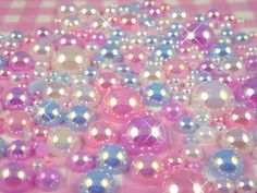 pretty girl cute fashion kawaii pearls pastel decoden magical pearl magical girl pastels colors sparkle in so cal contest Soft Colors, Pastel Colors, Bts Mode, Mode Pastel, Candy Crystals, Kawaii Crafts, Girly, Sparkles Glitter, Everything Pink