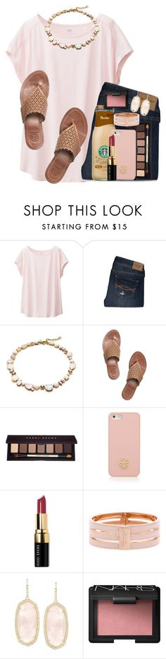 """""""You will forever be my always."""" by kaley-ii ❤ liked on Polyvore featuring Uniqlo, Abercrombie & Fitch, J.Crew, Tory Burch, Bobbi Brown Cosmetics, Henri Bendel, Kendra Scott and NARS Cosmetics"""