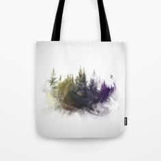 Dog eye in forest Tote Bag by jkdizajn Dog Eyes, Reusable Tote Bags, Dogs, Stuff To Buy, Pet Dogs, Doggies