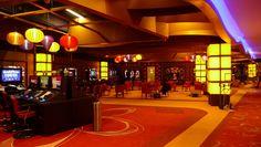 Lampionnen in een Casino