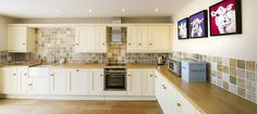 Spacious kitchen area in the Old Shippon