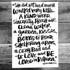 Brush Script | She didn't need much. by PolkaDotCreative at @studio_calico