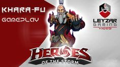 Heroes of the Storm (Gameplay) - Kharazim Rework Damage Build (HotS Khar...