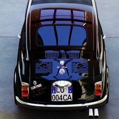 """Abarth FIAT 595 SS """"Invictus Corse""""  Anno 1968 Elaborazioni 2015  Motore 2.5L F4 Turbo 4WD 443kW Peso 609kg  Velocità max 276,3km/h 0-100km/h in 3,3s  Carrozzeria """"Invictus Corse"""" by Lukynix Designs  Cerchi in Lega Hole Shot Performance Wheels modello Hole Star  #abarth #fiat #500 #abarth595 #fiat500 #lukynix #lukynixdesigns #invictuscorse #cardesign #italianstyle #elaborazioniallitaliana #tuning #carstyling #xboxone #fm6"""