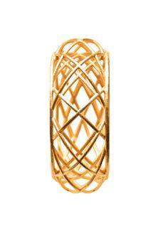 Inspiré par le magnifique toit du Scheepvaart Museum à Amsterdam, j'ai conçu ce bracelet construit avec un motif de l'évolution des formes rondes. Selon l'angle que vous le regardez, il ne sera jamais le même aspect et vous serez fasciné par son aspect changeant. Ce bracelet est