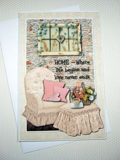 New Home Card Housewarming Card Congratulations by littledebskis  SOLD!!!!