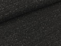 Sweatshirt fabric black mottled uni 13.20 EUR / meter
