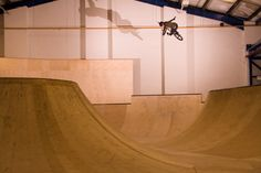Dean Cueson at Unit3sixty Indoor Skatepark #bmx