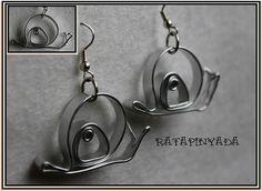 Snail Shape Earrings / Pendientes Caracol