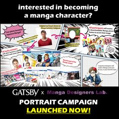 turn yourself into a manga character!