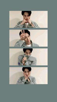 Wallpaper Iphone Cute, Cute Wallpapers, Wallpaper Samsung, Flower Wallpaper, Cartoon Wallpaper, Nct Doyoung, Instagram Frame, Nct Taeyong, Jaehyun Nct