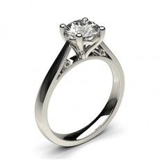 4 Prong Setting Medium Engagement Ring (Available from 0.30ct. to 2.00ct.)