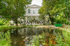 Magnificent Villa with romantic garden pond in Baden near Vienna. Villa, Garden Pond, Luxury Living, Luxury Real Estate, Oasis, Romantic, City, Terraces, House