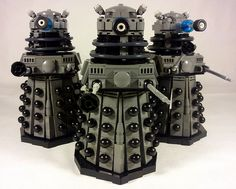 All sizes | LEGO Daleks Classic Grey | Flickr - Photo Sharing!